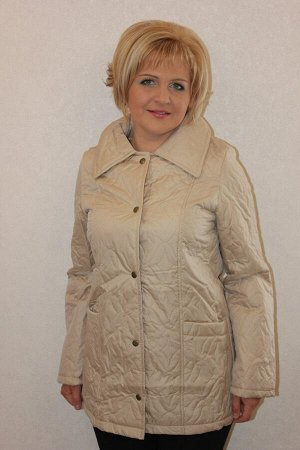 Куртка женская плащевка+синтепон демисезонная ПЭ100%