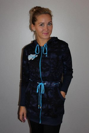 Куртка женская футер 20% хлопок 80% ПЭ