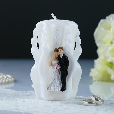 Цветочный Декор,Свечи, Альбомы. Лучшие Моменты в жизни!   — Свадебные свечи — Свечи и подсвечники