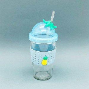 "Тамблер ""Pineapple"", (450ml) blue"
