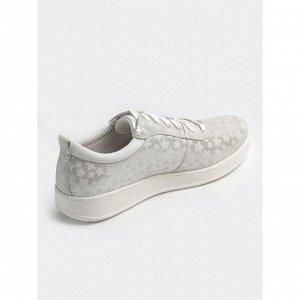 Туфли летние женские, белый нубук