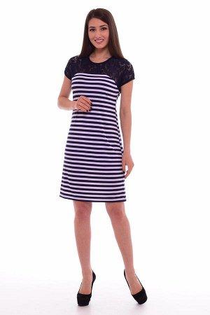 Платье женское 4-53а (синий)