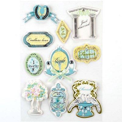 Создаем кукол и декорируем вместе с Magic 4 Hobby  — Наклейки — Бумага и наклейки