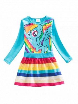 Платье Nova LH6218 blue