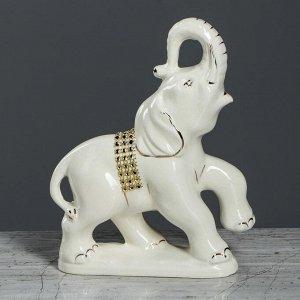 """Набор статуэток """"Слоны"""". белый. 7 предметов"""