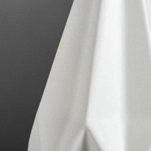 """Ваза настольная """"Оригами"""". геометрия. белая. 21 см. керамика"""