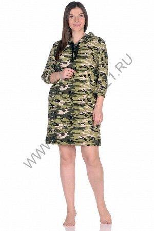 Платье-туника ( 46-56 размеры) (Код: С-206 )