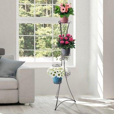 🌷 Кашпо, горшки, грунт - всё для домашних цветов и сада 🌷 — Напольные подставки для кашпо — Кашпо и горшки
