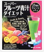 Аодзиру с фруктами NIHONKUTSURI