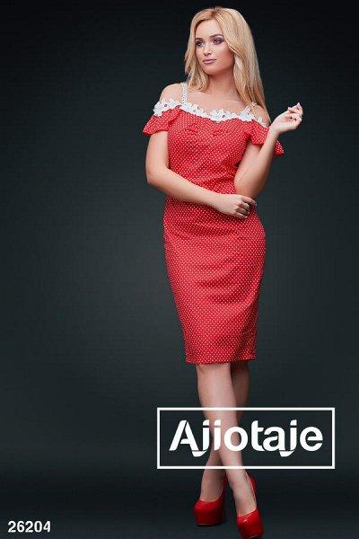 AJIOTAJE 2020  женская одежда  — Платья средней длины — Миди-платья