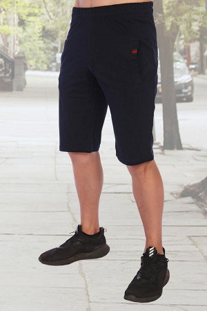 Шорты Бренд: Натали Ткань: футер с лайкрой 2-х нитка Состав: хлопок-72%, полиэстер - 20%, лайкра - 8% Шорты мужские для спорта и отдыха. Силуэт прямой, длина выше колен, стильный дизайн