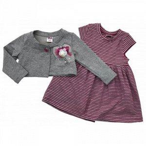9226 Платье с болеро для девочек Baby Pink