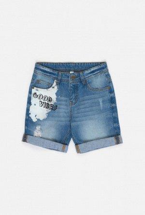 Шорты джинсовые детские для мальчиков Chida синий