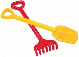 Набор №73: лопата большая, грабли большие