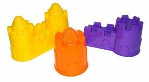 Формочки (замок башня,замок мост, замок стена с двумя башнями) 57*18 см