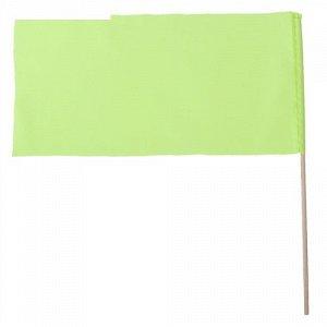 Флажок 20*40 см. L40 см. , цвет зеленый