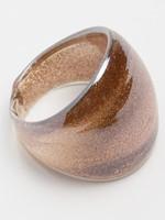 Кольцо из муранского стекла р.18-18,5