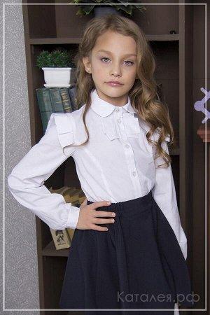 Пристрою белую школьную блузку
