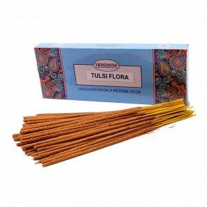 Благовония весовые уп-100гр премиум TULSI FLORA Примята упаковка масала EXTRA Цветы Туласи