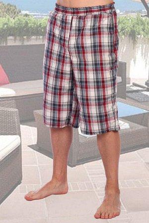 Бриджи Бренд: Натали Ткань: шотландка Состав: 100% хлопок Мужские бриджи. Клетчатый дизайн, ткань — шотландка, 100% хлопок. Пояс отрезной, собранный на широкой резинке с отстрочкой. Карманы внутренние