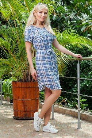 Платье рубашка на лето.