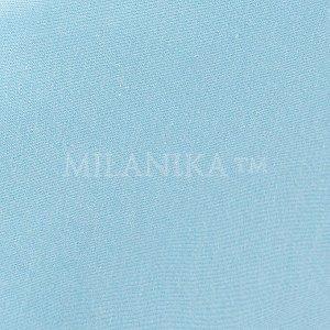 Голубая трикотажная наволочка (набор 2 шт.)