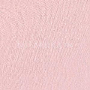 Розовая трикотажная наволочка (набор 2 шт.)