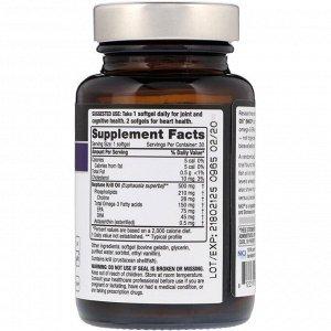 Quality of Life Labs, Масло криля Neptune, незаменимые питательные вещества, 500 мг, 30 мягких таблеток