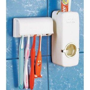 Органайзер-дозатор для пасты и зубных щеток