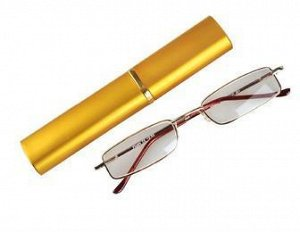Очки для зрения карандаш с футляром, узкие