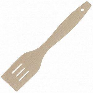 Лопатка деревянная с прорезями