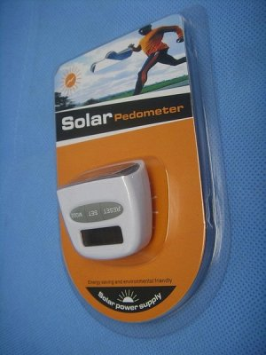 Шагомер на солнечных батареях оптом