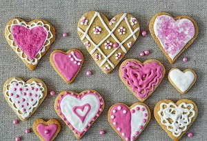 Набор формочек для кексов, печенья в ассортименте (5 шт)