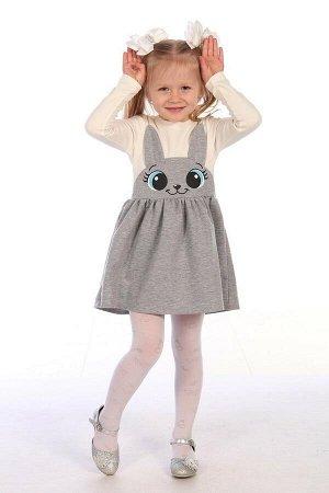 Платье Интерлок, футер-петля,54% ПЭ, 40% хлопок, 6% эластан,стирка при t не более 40 С