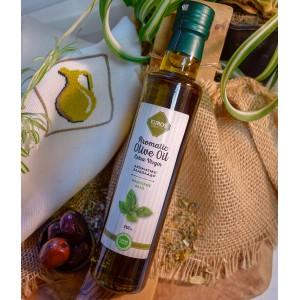 Оливковое масло EVROS с базиликом, Греция, ст.бут., 250мл