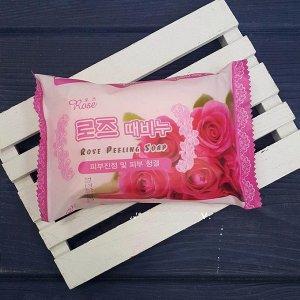 Rose Мыло-пилинг Rose 150гр (Роза)