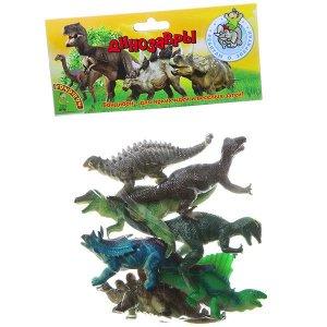 """Набор животных BONDIBON """"Ребятам о Зверятах"""", динозавры, 5"""", 7 шт."""