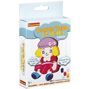 Набор для творчества BONDIBON, Магнитик из гипса кукла