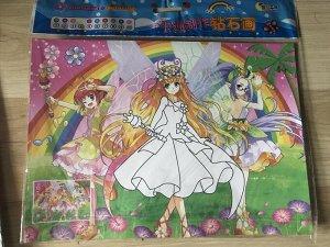 Героини японских мультфильмов (2 в 1)