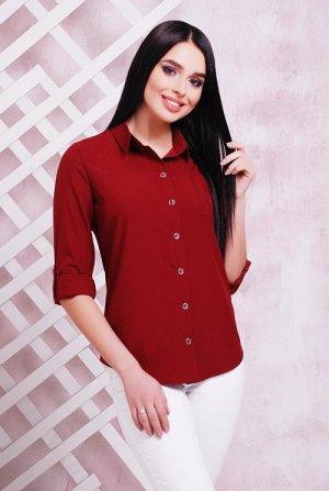 Блуза 1710 бордовый