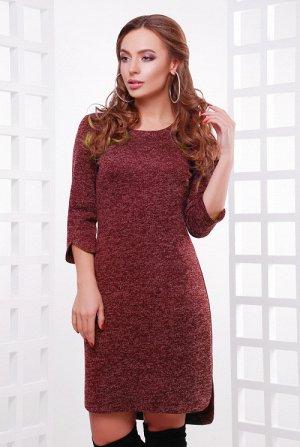 Платье 1760 бордовый