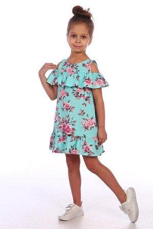Платья Ткань:КУлирка, Состав:Хлопок 100%