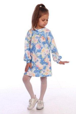 Платье Ткань: Жаккард Состав: Хлопок 30%, ПЭ 70%