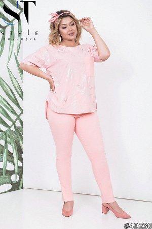 Костюм 49230 (блуза+брюки)