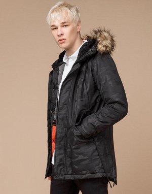 Молодежная зимняя куртка Braggart