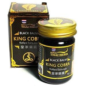 Черный бальзам с ядом королевской кобры Thai Herb King Cobra