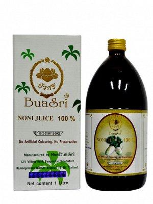 Сок Нони Bua Sri 100%натуральный, без добавок(стеклянная бутылка)