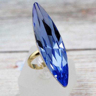 Бижутерия Ve*Vett стильная и яркая.😍 — Кольца с чешскими кристаллами — Кольца бижутерия