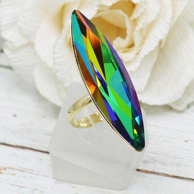 Бижутерия Ve*Vett стильная и яркая. — Кольца с чешскими кристаллами — Кольца бижутерия