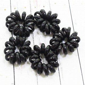 Резинка для волос в черная V9531